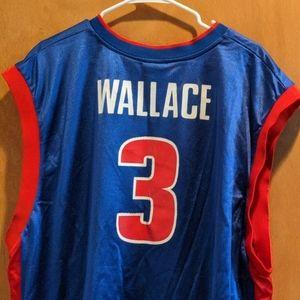 Big Ben Wallace Detroit Pistons jersey